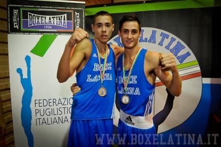 da sinistra Angelo Marchetto e Massimiliano Capoccia